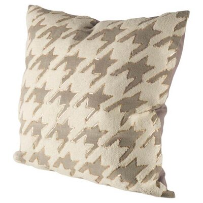 Chandler Square Geometric Linen Throw Pillow