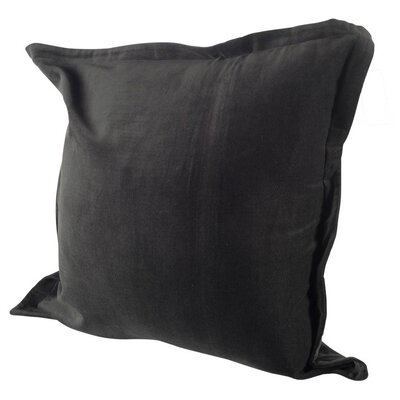 Arlington Linen Throw Pillow Color: Blue