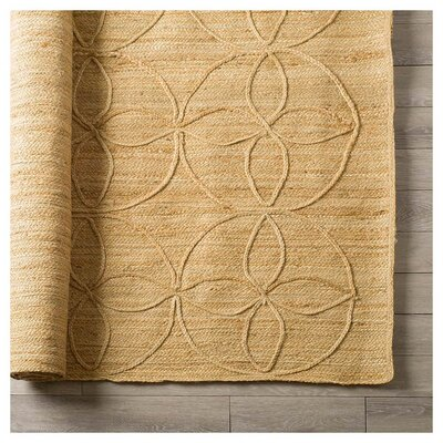 Thalia Hand-Woven Tan Indoor Area Rug