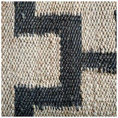 Lindsey Hand-Woven Tan Area Rug