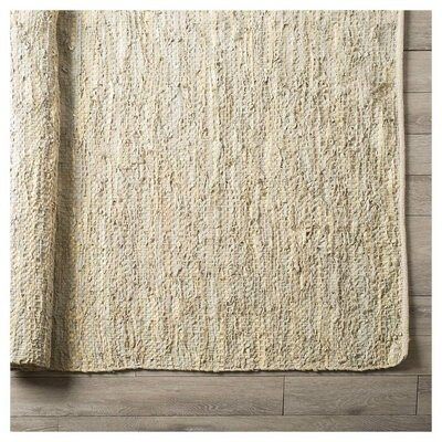 Aimee Hand-Woven Cotton Tan Area Rug