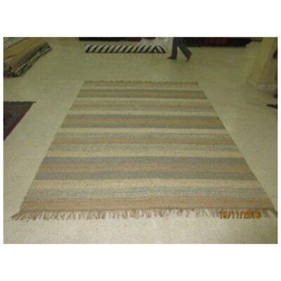 Thalia Hand-Woven Tan Area Rug