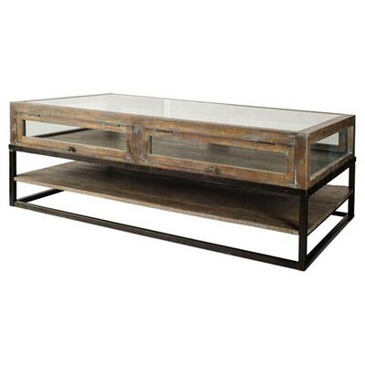 Landis Glass Coffee Table