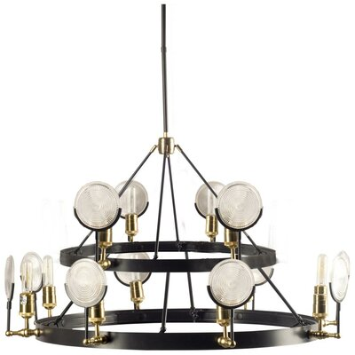 Liam 12-Light Candle-Style Chandelier