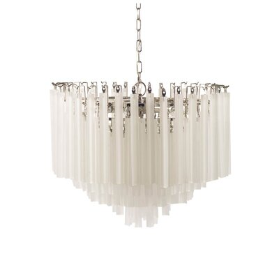 Bollara 6-Light Waterfall Chandelier