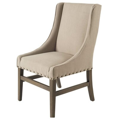Howell Side Chair Upholstery: Linen