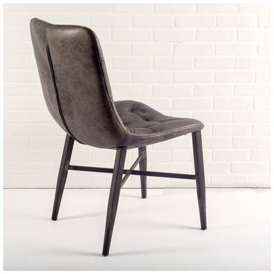 Pickett Genuine Leather Upholstered Dining Chair
