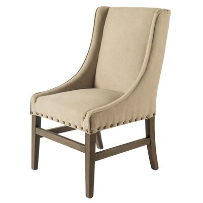 Howell Side Chair Upholstery: Canvas