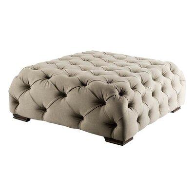 Hortense Ottoman Upholstery: Cream