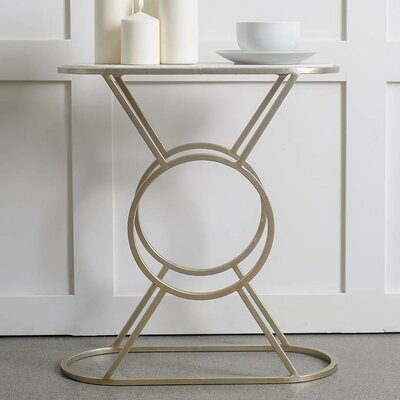 Sherise End Table Color: Bronze