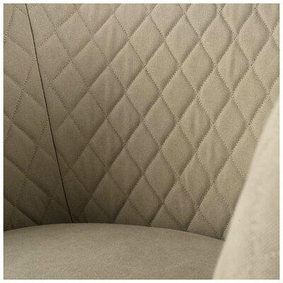 Beauregard Barrel Chair Upholstery: Natural Tan