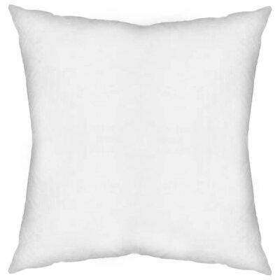 Contemporary Square Pillow Insert Size: 22 x 22