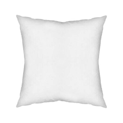Contemporary Square Pillow Insert Size: 18 x 18