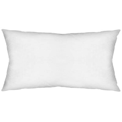 Contemporary Rectangular Pillow Insert Size: 14 x 26