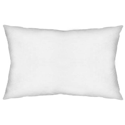 Contemporary Rectangular Pillow Insert Size: 13 x 21