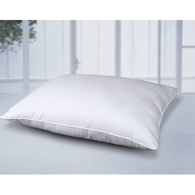 All Natural Filled Bed 100% Cotton Pillow Size: Standard