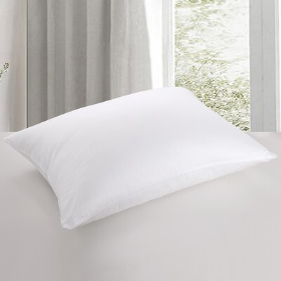 All Natural Core Bed 100% Cotton and Feather Pillow Size: King