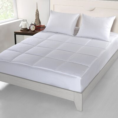 18 Cotton Mattress Pad Size: Twin