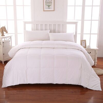 All Natural Down Alternative Comforter Size: Twin