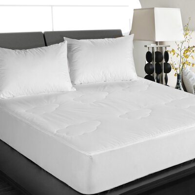0.5 Cotton Mattress Pad Size: Queen