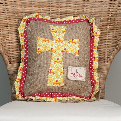 Believe Cross Pillow
