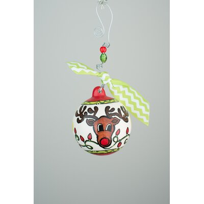 Reindeer Ball Ornament