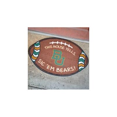 NCCA Football Indoor/Outdoor Doormat NCAA Team: Baylor Bears