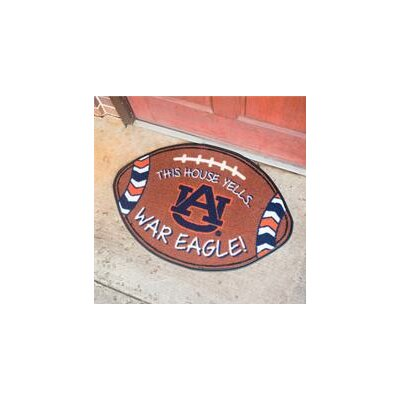 NCCA Football Indoor/Outdoor Doormat NCAA Team: Auburn Tigers