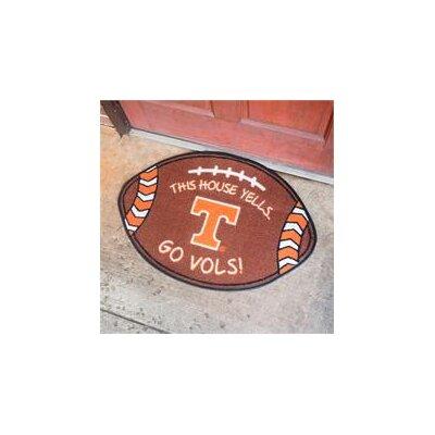 NCCA Football Indoor/Outdoor Doormat NCAA Team: Tennessee Volunteers