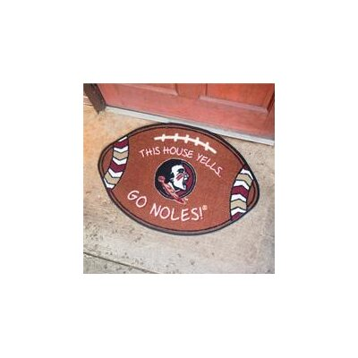 NCCA Football Indoor/Outdoor Doormat NCAA Team: Florida State Seminoles