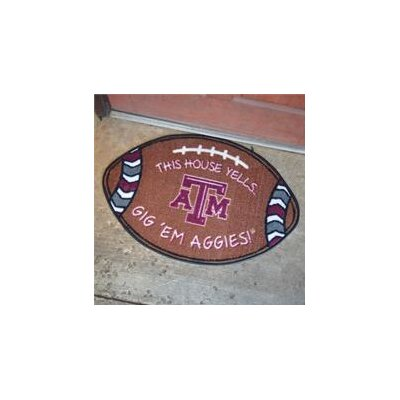 NCCA Football Indoor/Outdoor Doormat NCAA Team: Texas A&M Aggies