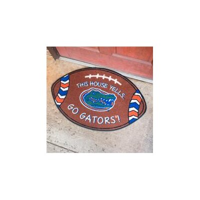 NCCA Football Indoor/Outdoor Doormat NCAA Team: Florida Gators