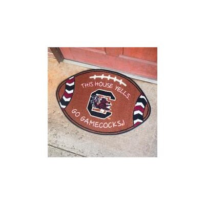 NCCA Football Indoor/Outdoor Doormat NCAA Team: South Carolina Gamecocks
