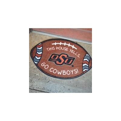 NCCA Football Indoor/Outdoor Doormat NCAA Team: Oklahoma State Cowboys
