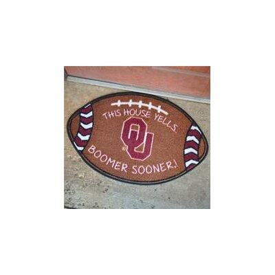 NCCA Football Indoor/Outdoor Doormat NCAA Team: Oklahoma Sooners
