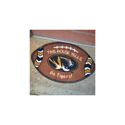 NCCA Football Indoor/Outdoor Doormat NCAA Team: Missouri Tigers