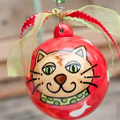 Cat Ball Ornament