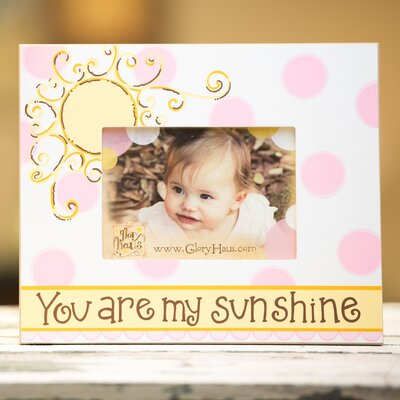 Glory Haus You Are My Sunshine Girl Picture Frame at Sears.com