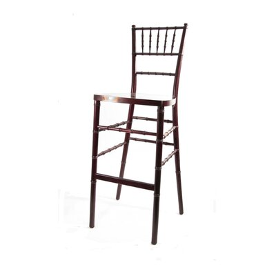 Chiavari 30 inch Bar Stool Finish: Red Mahogany