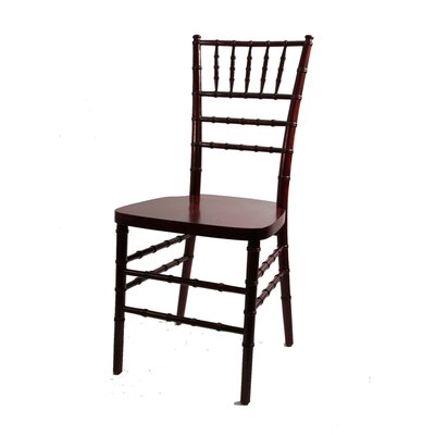 American Classic European Solid Wood Dining Chair Finish: Red Mahogany