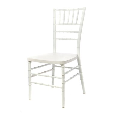 American Classic European Solid Wood Dining Chair Finish: White