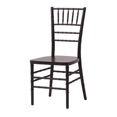 Max Series Resin Chiavari Side Chair Finish: Black