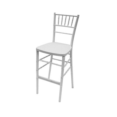 Max Bar Stool Finish: White