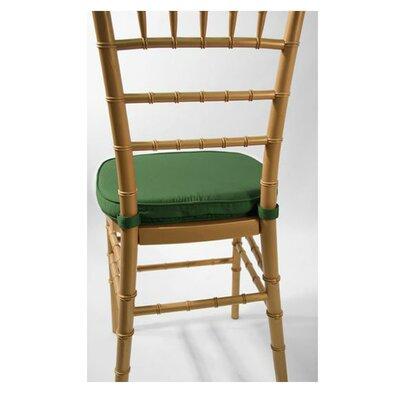 Chiavari Chair Cushion Fabric: Hunter Green