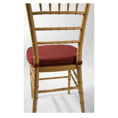 Chiavari Chair Cushion Fabric: Burgundy
