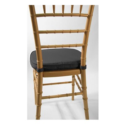 Chiavari Chair Cushion Fabric: Black