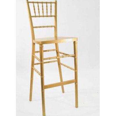 Cliffland 30 Bar Stool Finish: Gold