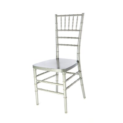 American Classic European Solid Wood Dining Chair Finish: Silver