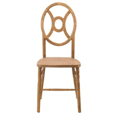 Veronique Series Twin Solid Wood Dining Chair Finish: Tinted Raw