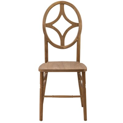 Gibb Diamond Solid Wood Dining Chair Finish: Antique fruitwood